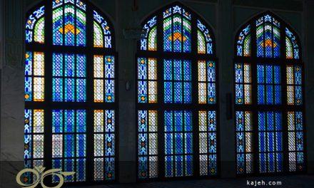 نقش پنجره های استیند گلس (استین گلاس) در بنای مسجد سلطان احمد