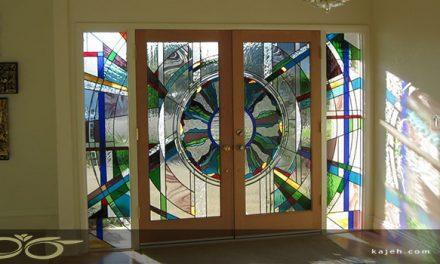 درب شیشه ایی لابی، ورودی ساختمان ها