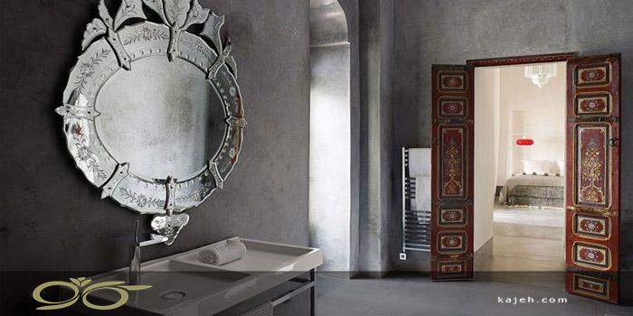 کاربرد آینه های دکوراتیو در طراحی داخلی