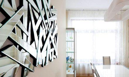 طراحی و ساخت انواع آینه های دکوراتیو