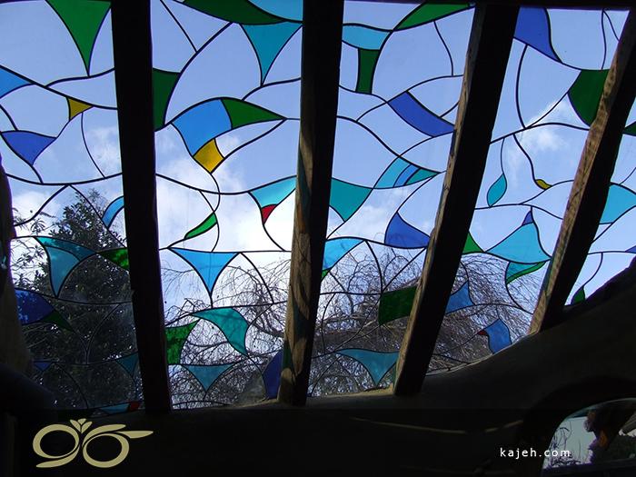 انواع سقف نورگیر شیشه ایی در معماری داخلی