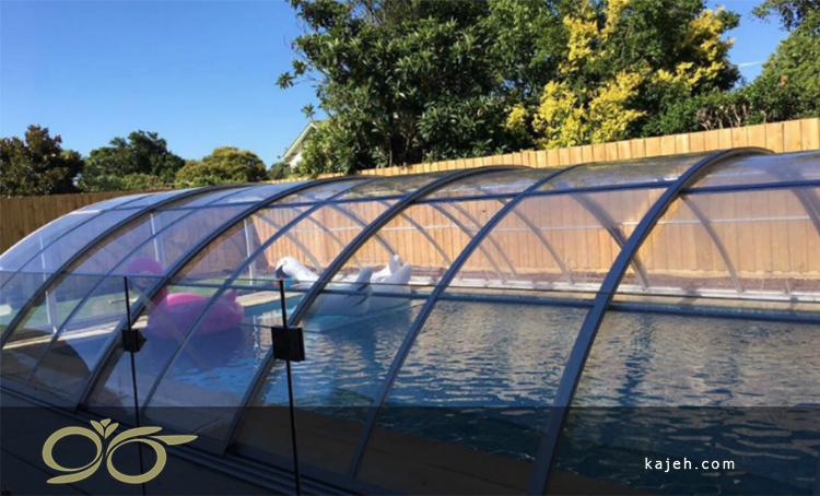 ۷ مرحله عملیات تجهیز و اتمام استخر شنا در فضای مسکونی