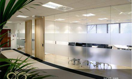 مزایای نصب پارتیشن شیشه ای در محل کار بروزرسانی 2018
