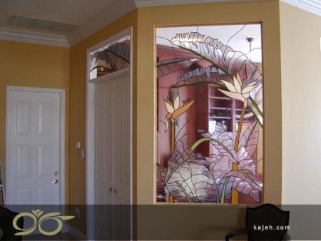 انواع شیشه های تزیینی دکوراتیو برای منازل