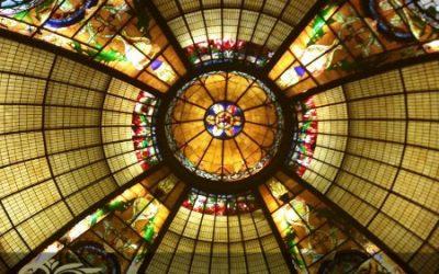 اجرای انواع گنبد شیشه ای تزیینی در منازل