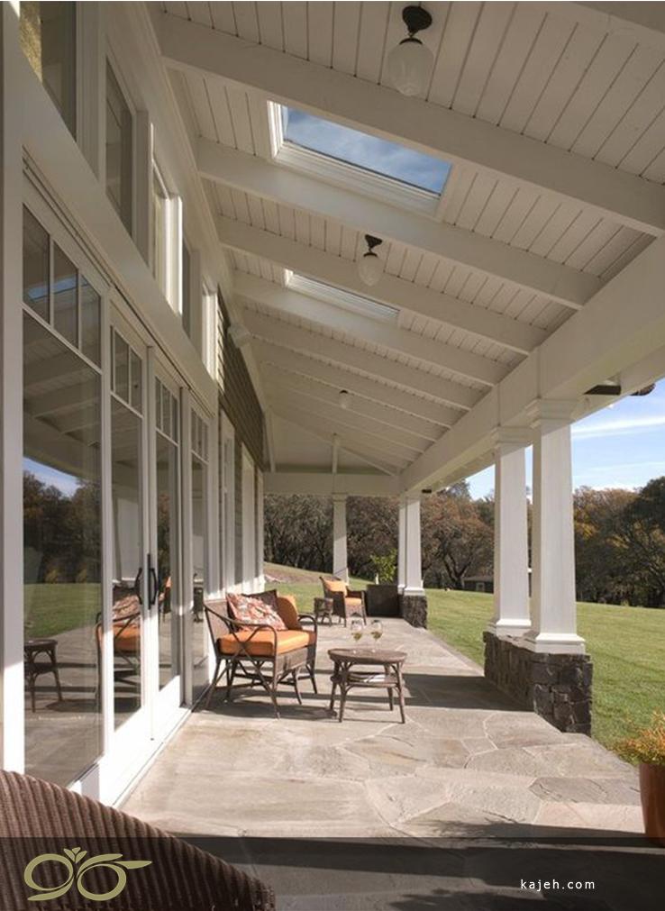 انواع پنجره های سقفی جهت تابش نور خورشید