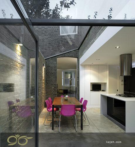 سقف نورگیر شیشه ای مناسب برای انواع ساختمان