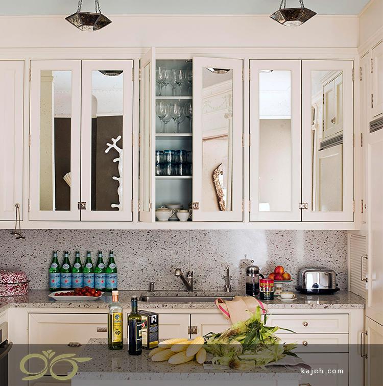 نصب آینه روی دیوار؛ دکوراسیون با آینه انعکاسی از ترند جدید