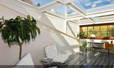 ۲۰ ایده مدرن برای نورگیرهای سقفی موجود در خانه هایی با کاربری دفتر کار