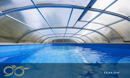 ۱۱ مزیت پوشش استخر شنا که با پلی کربنات ساخته شده است