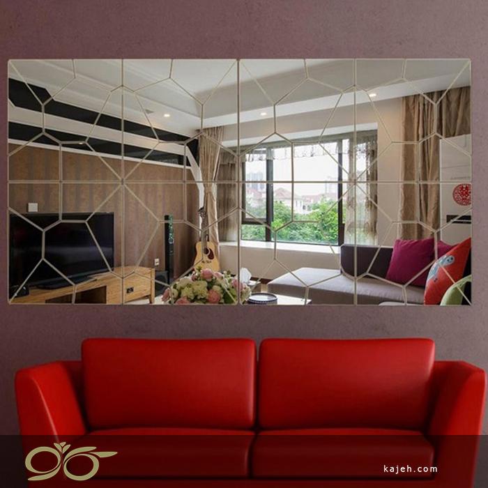 استفاده از آینه های دکوراتیو در سالن های پذیرایی