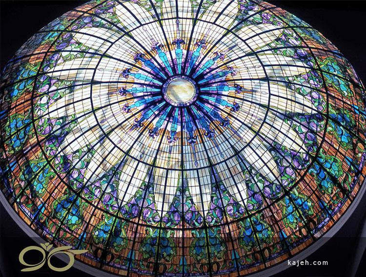 نصب گنبد شیشه ای استیندگلس برای کلیسا آن را جذاب و متمایز می کند