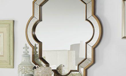 هفت روش الهام بخش برای داشتن آینه دکوراتیو  در اتاق نشیمن
