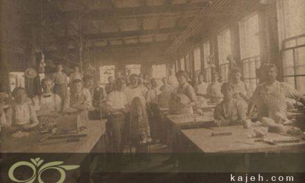 تاریخ و خواستگاه تکنیک تیفانی