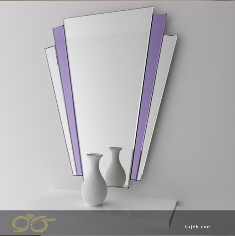 آینه دکوراتیو دور بنفش