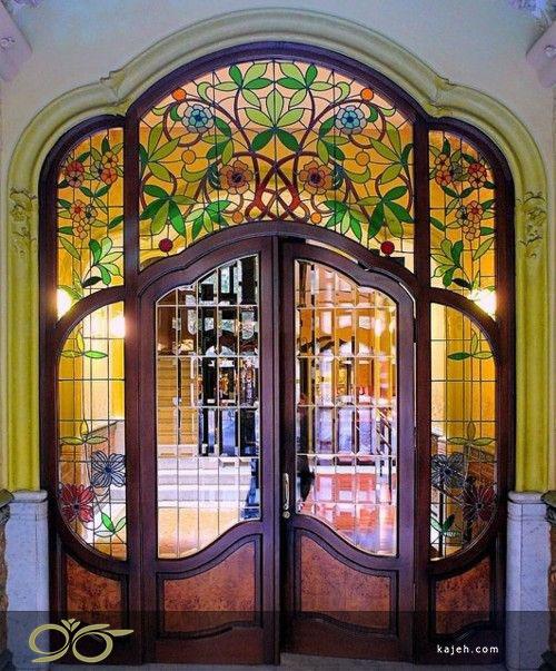 شیشه درب لابی در ساختمان های لوکس