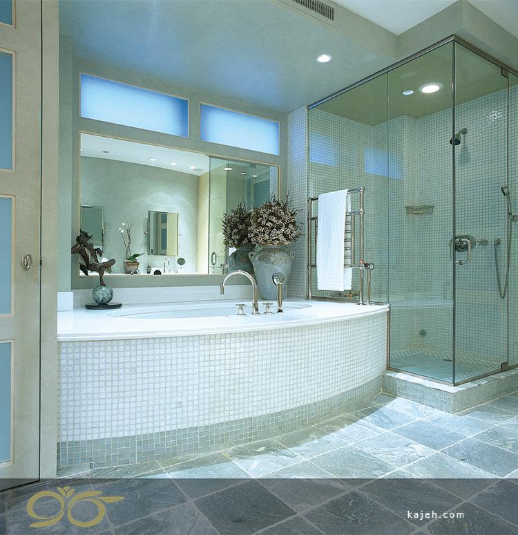 انواع دیگر پارتیشن در حمام