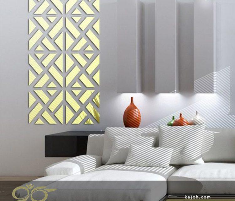 تولید آینه های خاص و دکوراتیو نسبت به فضای داخلی و چیدمان منزل