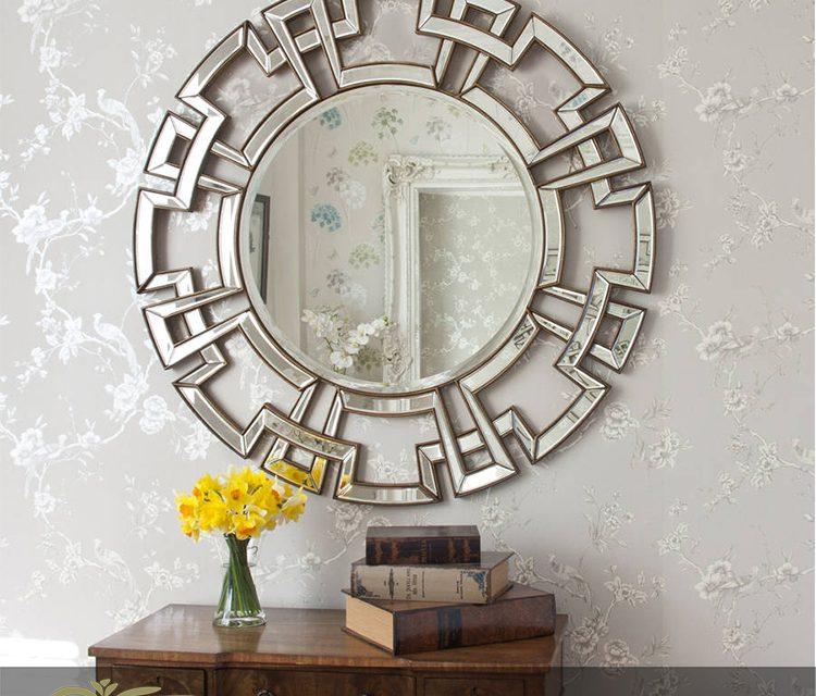 آینه دکوراتیو ؛ ۹ راه حل متفاوت استفاده از آن در خانه