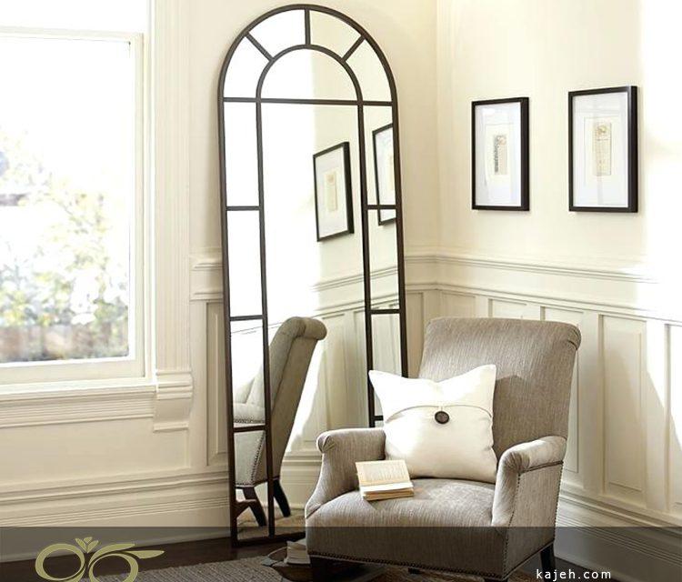 پرسش و پاسخ درباره آینه قاب فلزی دکوراتیو ( آینه پنجره ای یکی از محبوب ترین آینه ها )