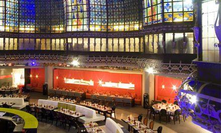 گنبد استیند گلس برای رستوران ها