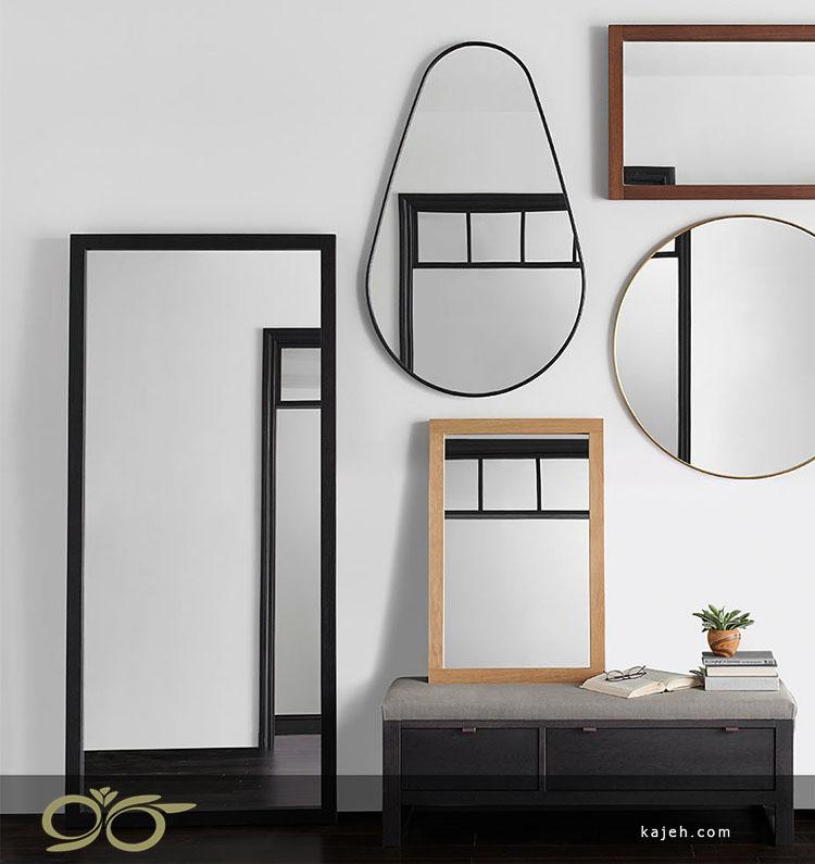 دکور آینه با فلز : راهنمایی های در طراحی و نصب آینه