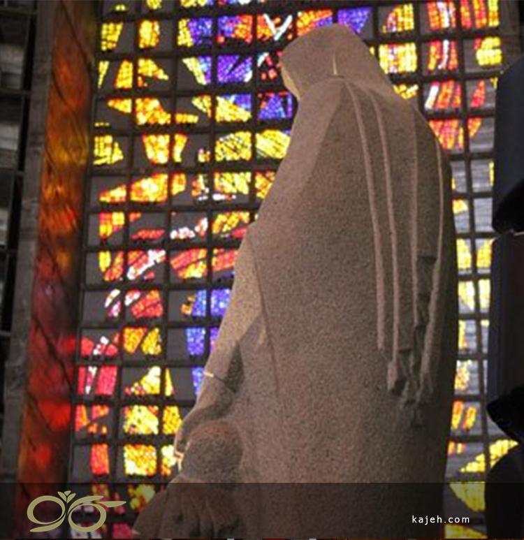 استیند گلس های ساختمان کلیسای جامع ریودوژانیرو
