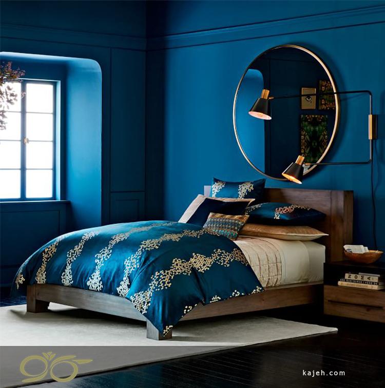 نصب آینه دیوار در اتاق خواب