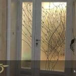 ساخت درب شیشه ای تزئینی تیفانی در کارگاه کاژه + فیلم