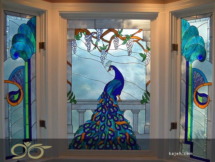 استفاده از استیند گلس در پنجره های تزئینی و دیگر قسمت های منزل