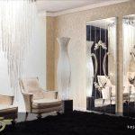 آینه های دکوراتیو لوکس برای سالن پذیرایی منازل