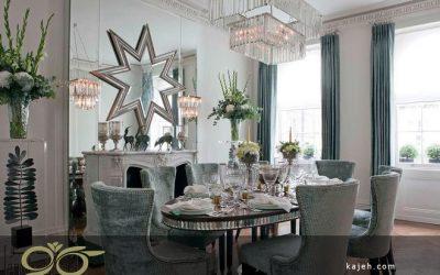 آینه های دکوراتیو در طراحی خانه های سنتی و کلاسیک