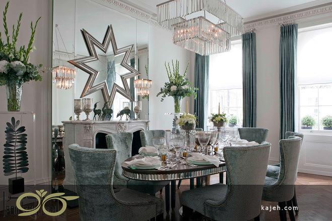 آینه های دکوراتیو کلاسیک در طراحی خانه های سنتی