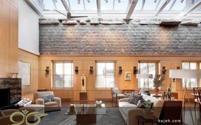 سقف نورگیر شیشه ای تزیینی برای دکوراسیون داخلی ساختمان مدرن