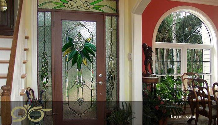 شیشه های تزیینی برای طراحی دکوراسیون منازل جدید