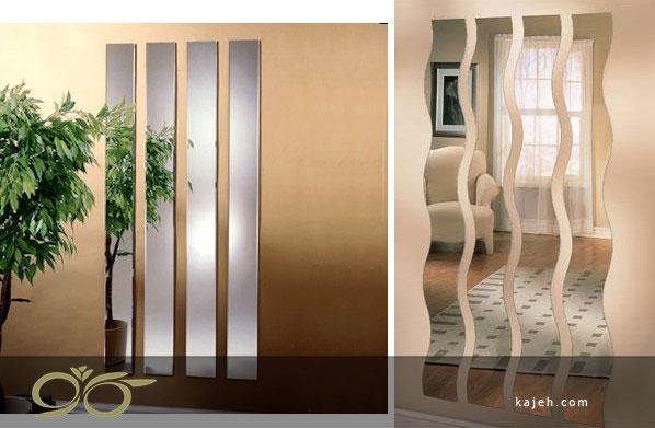 آینه های دکوراتیو تزیینی برای دیزاین منازل شیک