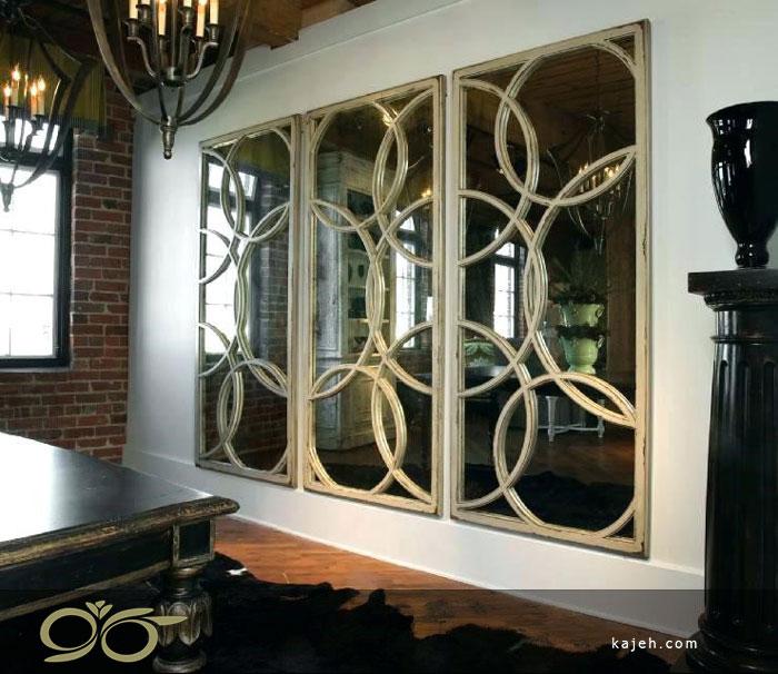 آینه های دکوراتیو تزئینی برای دیزاین منازل شیک چگونه انتخاب میشوند؟