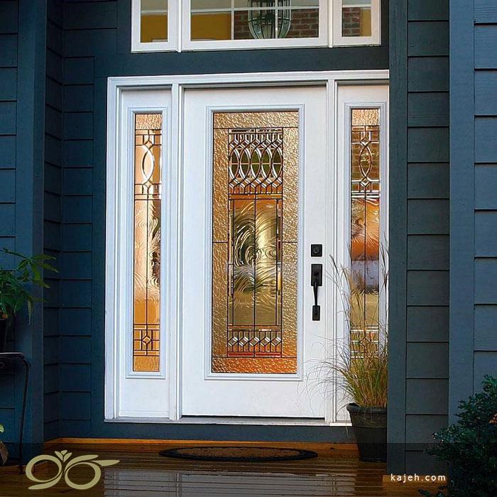 کاربرد شیشه های تزیینی برای درب لابی ساختمان ها