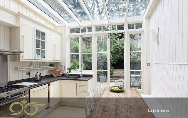 سقف نورگیر شیشه ای برای طراحی انواع ساختمان