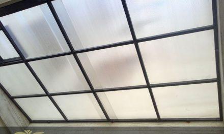 سقف پلی کربنات برای پوشش پاسیو