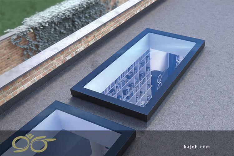 نمونه پنجره سقفی