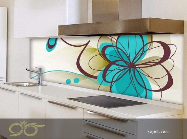 کاربرد شیشه تزیینی داخل آشپزخانه