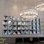 آینه 3 بعدی ; ساخت آینه دکوراتیو حجمی برای سالن نشیمن