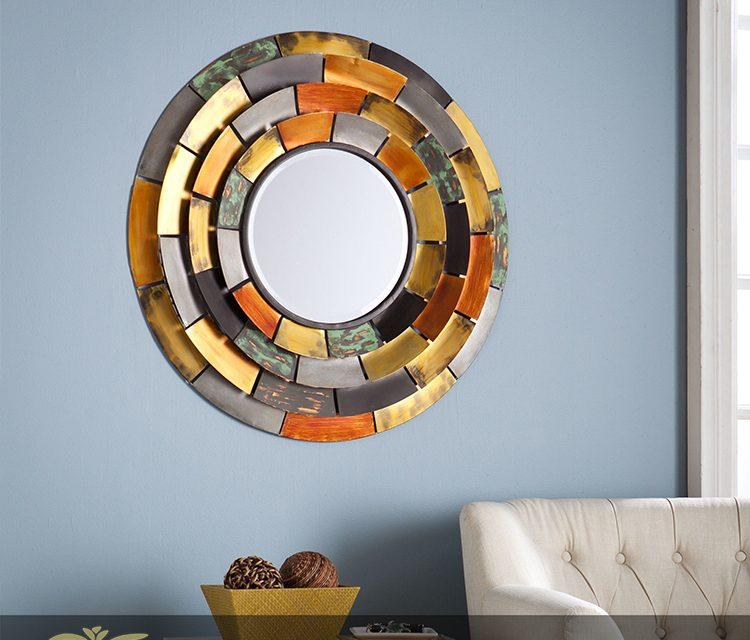 نصب آینه ؛ چگونه یک آینه مناسب برای نصب روی دیوار انتخاب کنیم