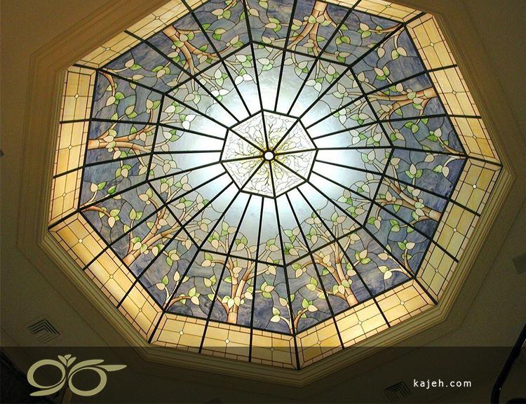 گنبد شیشه ای ؛ نمونه های از گنبدهای ۸ ضلعی