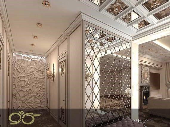 استفاده از محبوب ترین طرح های آینه های دکوراتیو برای تزیین منزل