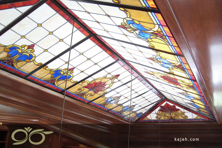 چرا ازسقف نورگیر شیشه تزئینی (استین گلس) استفاده می شود؟