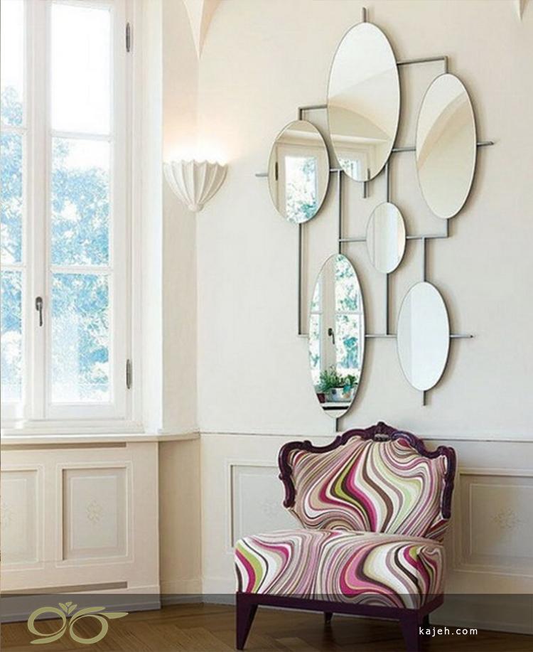 نصب آینه ؛ چگونه با آینه دکور کنیم