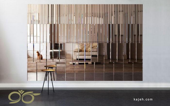 تاثیر آینه های دکوراتیو در طراحی داخلی منزل و محیط کار