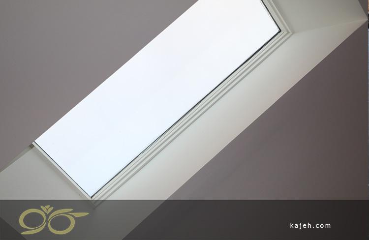 نصب نورگیر شیشه ای